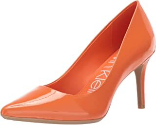 c281c49ac5d Amazon.com  Orange - Pumps   Shoes  Clothing