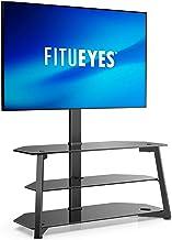 FITUEYES Support TV 3 niveaux / base pour téléviseurs 37-70 pouces, support de plancher universel pour téléviseur d'angle ...