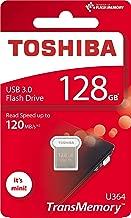 Toshiba 128GB 128G USB 3.0 Flash Disk TransMemory U364 USB3.0 Flash Drive mini USB Stick Read 120MB/s ( THN-U364W1280A4 )