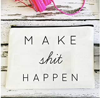 Make Shit Happen Baby Travel Changing Pouch