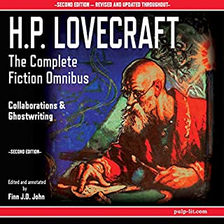 Page de couverture de H.P. Lovecraft - The Complete Fiction Omnibus Collection, Second Edition