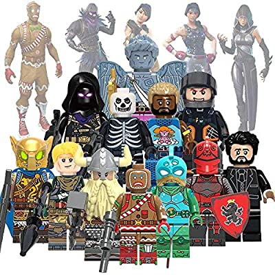 New Battle Royal Toy Figures Set- Heroes from Fort Battle Royal- Gift for Boys and Girls (New 12 Heroes) by FortRoyals