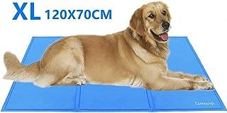 comprar comparacion Cadosoigh Alfombra refrescante para Perro Alfombra de Refrigeración Animales Mascotas Colchoneta Cama Manta Refrigerante A...
