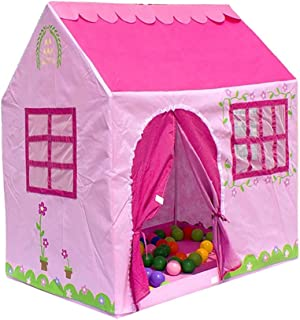 NYDZDM Kids Play Tent Indoor Toddler Play House Outdoor Camping Playground (Color : Pink)