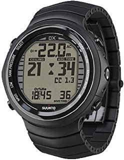 Suunto DX Black Titanium with USB & Suunto Wireless Tank Pressure Transmitter Led