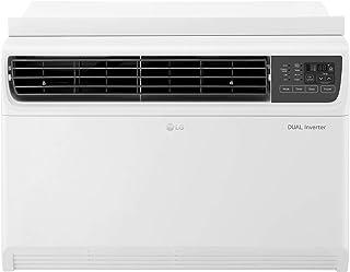 LG 14,000 BTU 115V Dual Inverter Window Air Conditioner with Wi-Fi Control, 14000, White