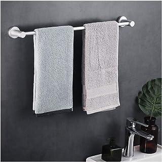 YF-SURINA Barre de serviette de douche espace aluminium structure entièrement métallique aucun assemblage requis étagère d...