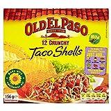 Coquilles Old El Paso Crunchy Taco (12 par paquet) - Paquet de 2