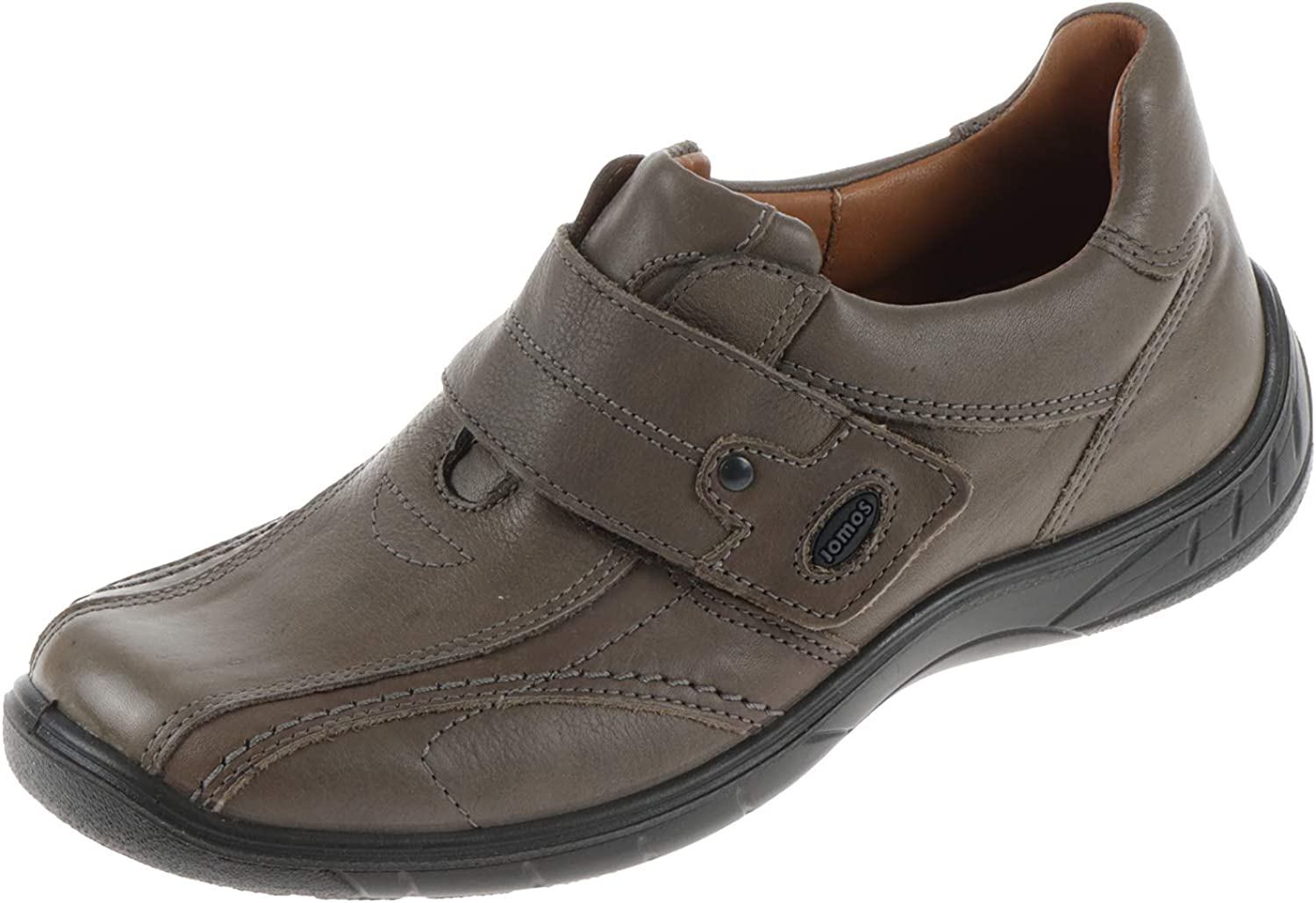 Jomos Men's Loafer Flats Grey Smoke Toskana Retro