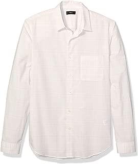 Theory Men's Printed Cotton Stretch Sport Shirt