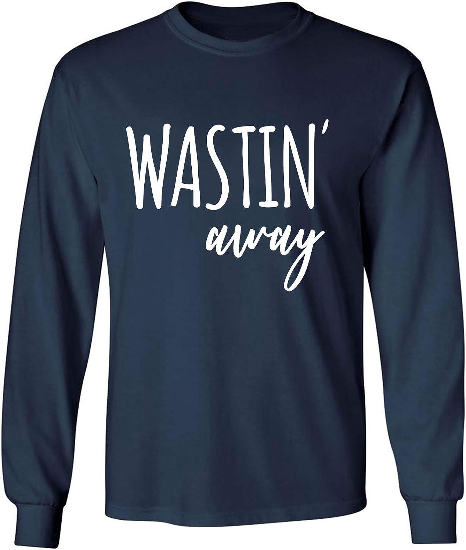 zerogravitee Wastin Away Adult Long Sleeve T-Shirt