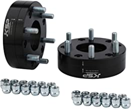 KSP 5x5 to 6x5.5 Dually Wheel Adapter Spacer, Fit 6 Lug Toyota Chevy Gmc Wheels on 5 Lugs Truck Jeeps M14X1.5 Studs 78.1 Hub Bore with 1/2