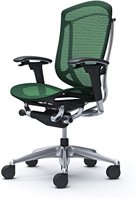 オカムラ オフィスチェア コンテッサ セコンダ 可動肘 ハイバック ウレタンキャスター仕様 メッシュ ダークグリーン CC81XR-FPH5