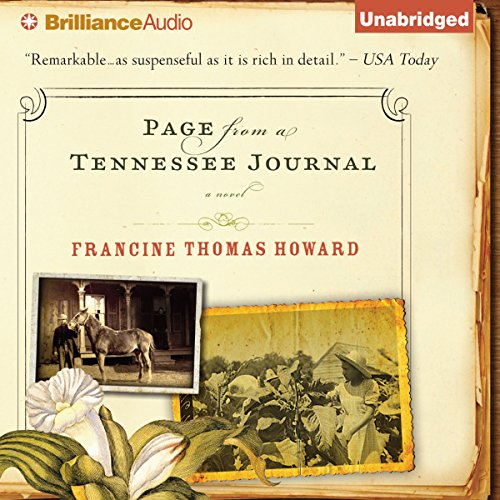 Page From A Tennessee Journal audiobook cover art