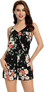 miss moly Women Playsuit Short Romper Jumpsuit Off The Shoulder for Lady Summer Rompers Playsuits 3/4 Sleeves