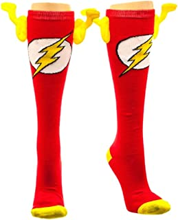 The Flash Wing Socks (Knee High), Sock Size: 9-11