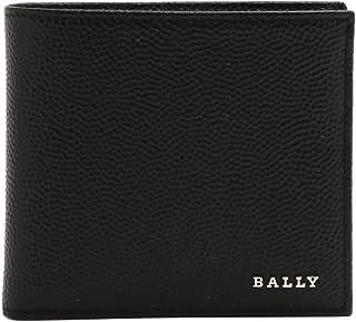 [バリー] BALLY 財布 2つ折り NEVAN MEN'S WALLLET エンボスレザー NEVAN/00/BLACK*BLACK ブラック