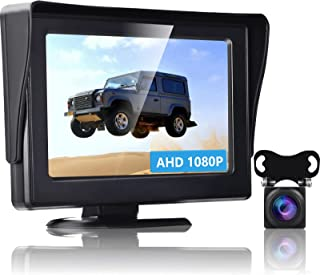 $69 » Sponsored Ad - Podofo Wireless Digital Backup Camera AHD 1080P Car Reverse Camera with Stable Signal 4.3 inch LCD Monitor ...