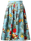 Grace Karin®, Gonna Corta da Donna ad Altezza Ginocchio in Stile Vintage Anni '50 (CL6294...