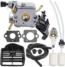 Mckin C1M-EL37B 506450401 Carburetor for Husqvarna 445 445E 450 450E Gas Chainsaw with Air Filter Tune Up Kit