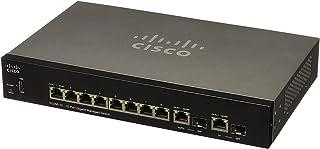 سيسكو جهاز تحويل الشبكة ايثرنت جيجابيت المدارة 8 مخارج