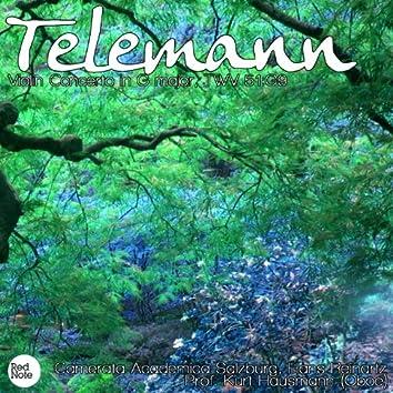 Telemann: Violin Concerto in G major, TWV 51:G9