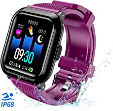 T-CORE Fitness Tracker Smart Watch, Activity Tracker with Heart Rate Monitor, IP68 Waterproof Fitness Band with Blood Pressure, Step, Calorie Counter, Pedometer Watch for Kids Women and Men