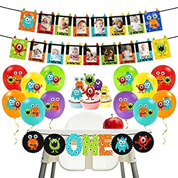 Best monster birthday decorations Reviews