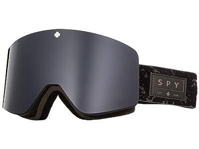Spy Optic Marauder (Onyx/Gray Green/Black/Persimmon/Silver Spectra Mirror) Goggles