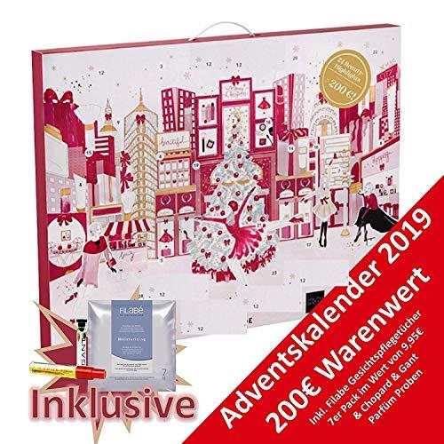Douglas Beauty Adventskalender 2020 -EXKLUSIV Edition Newyork Winter- idealer Frauen + Mädchen Weihnachtskalender, Wert 200€, 24x Marken Kosmetik