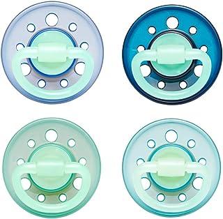 NIP Schnuller Family kiefergerecht: Mindert Druck auf Z/ähne /& Kiefer BPA-Frei Boy 0-6 Monate Latex Made in Germany Gr/ö/ße 1