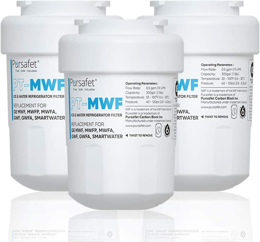 Pursafet MWF Refrigerator Water Filter GE Compatible Overseas parallel import regular item G Ranking TOP17 with