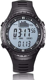 ARAYACY Reloj ElectróNico De Pesca Al Aire Libre, Reloj Deportivo, Recordatorio Inteligente De ElevacióN Impermeable Y Luminosa,A