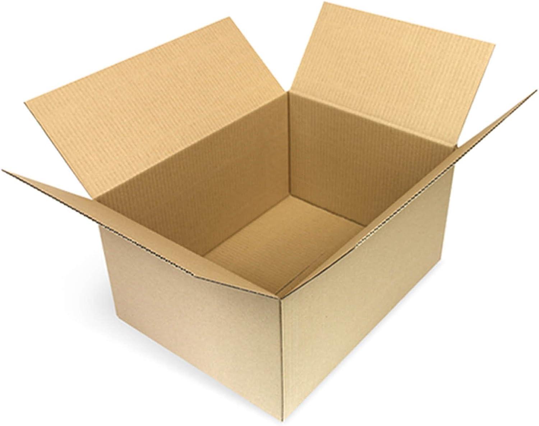 100 Faltkartons 500 x 330 x 175 mm Versandkartons aus Wellpappe 1 wellige Kartonverpackungen KK 99 B01E74IIQC    | Ausgang