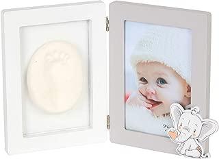 Portafotos Huellas Baby Girl /Álbum Marco Porta Fotos Porta Fotos Huellas Reci/én Nacidos DISOK Beb/és Ni/ños