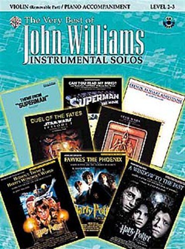 The Very Best Of John Williams: Instrumental Solos (Violin). Für Violine, Klavierbegleitung