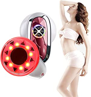 FEITA Body Shaping Massager Red Light Weight Loss Vibration Beauty Machine for Stomach Arm Leg Skin Tightening