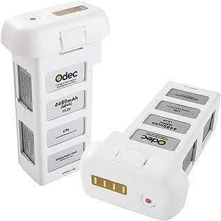 Odec DJI Phantom 3 Battery, Drone Battery for Phantom 3 Standard, Phantom 3 Advanced, Phantom 3 SE, Phantom 3 Professional, Phantom 3 4K 15.2V 4480mAh LiPo Battery Pack(2 Pack)