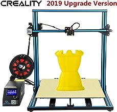 2019 Upgrade CR-10 10S S5 Creality 3D Printer Filament Sensor Dual Z Axis Resume Power Off 500x500x500mm Printing Size