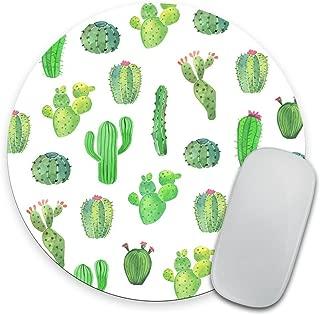 Cactus Mouse Pad Gift Desk Decor Dorm Decor Office Decor Round Mousepad Office Supplies..
