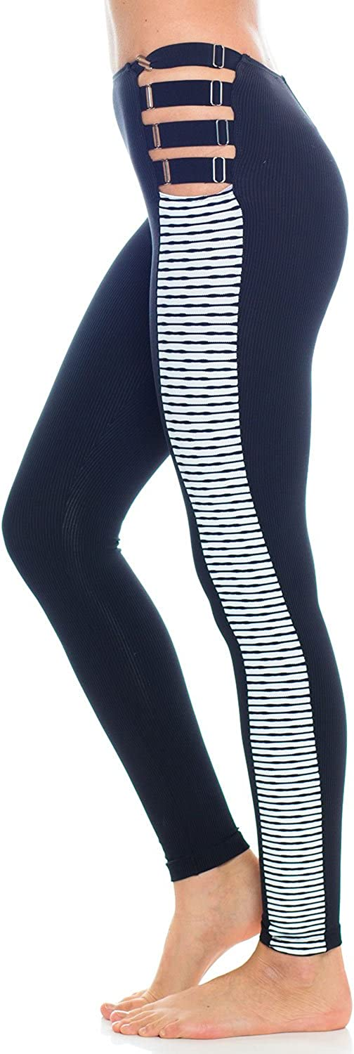 bluee Life Fit Suspender Legging Womens Active Workout