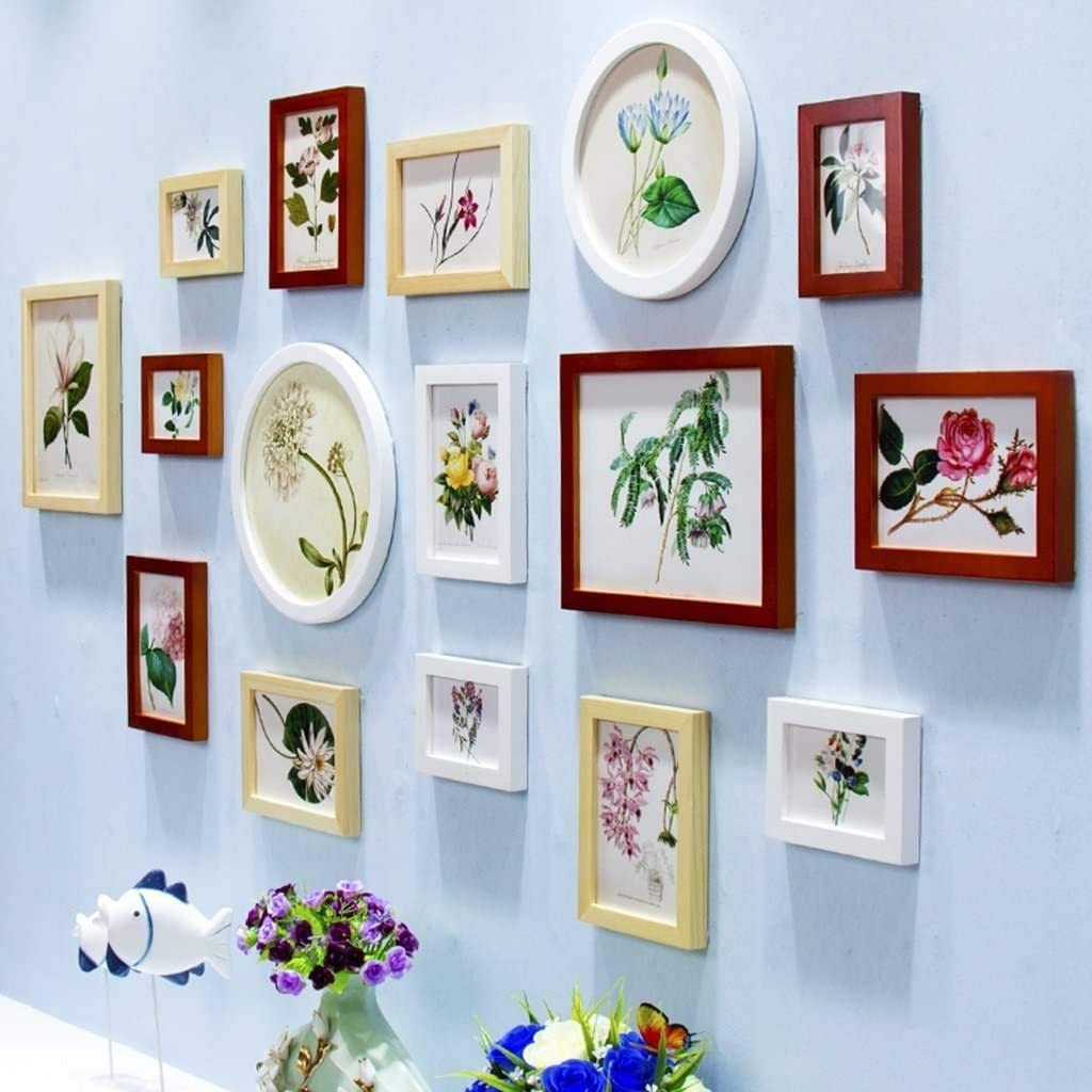 Home Living Room Wall Hanging Gallery 16 f Frame Pcs Sales Kit Picture Complete Free Shipping