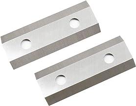 Power tool accessories 1 Pair Garden Shredder Chipper Blades Knife Tool parts