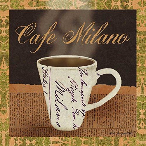 Feeling at home LIENZO-CON-AMERICANO-CAJA-Cafetería-Milano-Ven-Vertloh-Lisa-Cocina-Fine-Art-impresión-sobre madera-marco-Cuadrado-21x21_in