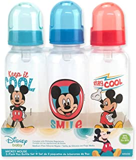 Disney Mickey Mouse Bottle Set, 3-Pack