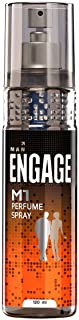 Engage M1 Perfume Spray For Men, Citrus and Woody, Skin Friendly, 120ml