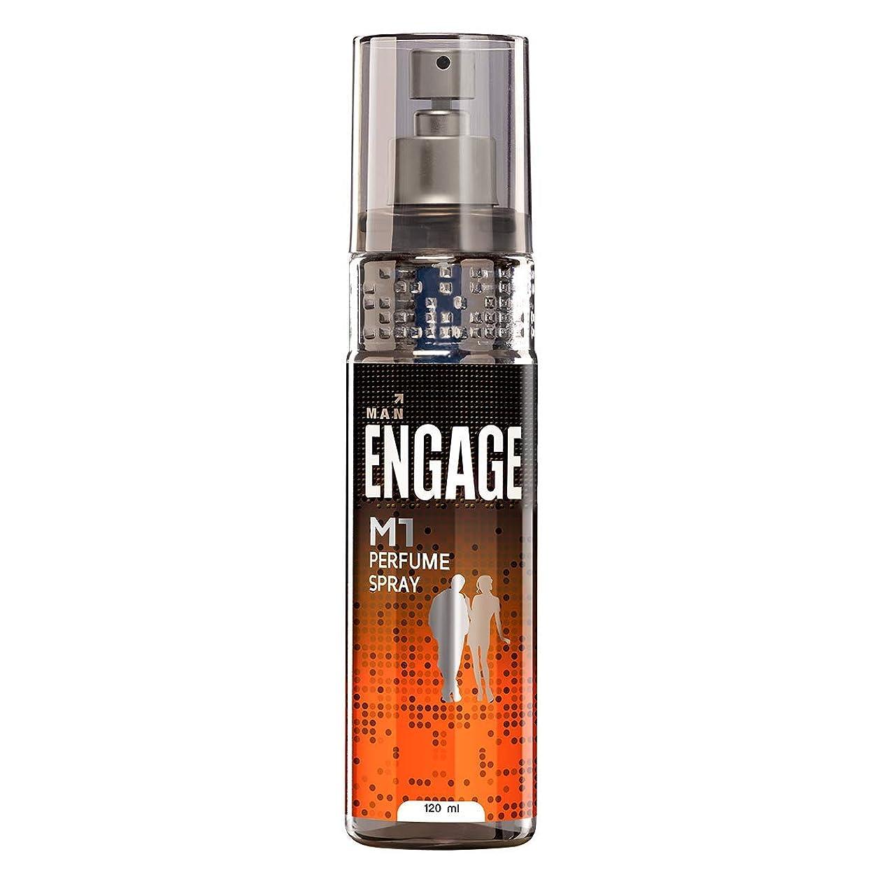 カナダ減少協力Engage M1 Perfume Spray For Men, 120ml