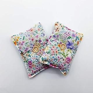 """Mini cuscino""""Dormi Bene - Acquerello"""" (confezione con 2 unità) pieno di semi di lavanda bio - mettilo sotto al tuo cuscino..."""