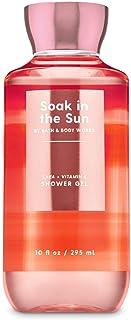 Bath and Body Works Soak In The Sun Peach Sunset Shower Gel Wash 10 Ounce