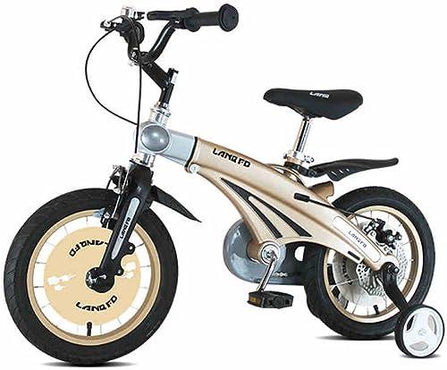 preferente LYYBIKES Bicicleta de los Niños, 12 14 16 Pulgadas de de de aleación de magnesio Cochecito de bebé retráctil Niño Modelos de Bicicletas Masculinas y Femeninas  te hará satisfecho